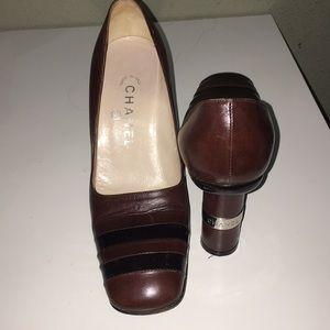 Vintage original Chanel heels